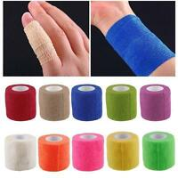 Kinesiology Self-Adhering Bandage Wrap Elastic Adhesive First Aid TapeStretch DT
