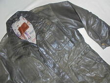 M Flues Timber von Tipel Herren Lederjacke Leather Jacket Jacke Gr 56 58 L XL