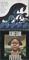 ALTERNATIVE ROCK CDs - GUSGUS, KMFDM, KEANE, DELERIUM, ETC - 6 AUDIO CDS
