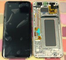 Oro Genuino Samsung SM-G955F Galaxy S8 PLUS PANTALLA AMOLED PANTALLA LCD 2k Marco