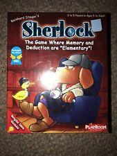 2004 Sherlock Memory Card Game Complete