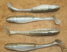 "3.5"" Swim Minnow Shad Swimbait Trailer for A Rig 50 pack bulk bag Plastic Worm"