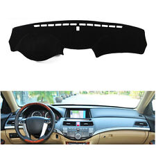 For Honda Accord 8th 2008-2012 DashMat Dash Board Dashboard Mat Cover FLY5D Mat