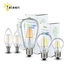 110/220V Filamento LED Lampada della Candela 4W 8W 12W 16W Vetro Luce E27 E14 6