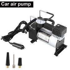 HEAVY DUTY PORTABLE 12V AIR COMPRESSOR 100PSI CAR VAN TYRE INFLATOR PUMP GAUGE