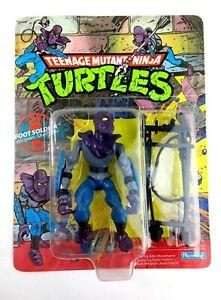 1988 Teenage Mutant Ninja Turtles TMNT Foot Soldier Unpunched 10 Back