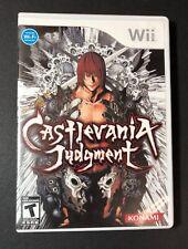 Castlevania [ Judgment ] (Wii) USED