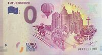 BILLET 0  EURO FURUROSCOPE  2017  NUMERO 100