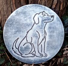 """Dog mold Multi breed garden casting plaque mould 7.75"""" x 3/4"""" thick"""