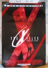 THE X FILES FIGHT THE FUTURE MOVIE POSTER