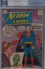 ACTION COMICS #239 PGX 5.0 VG/F APR 1958 SUPERMAN's NEW FACE