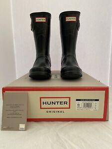 NIB Women Hunter Rain Boots, Navy, Size 5