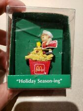 """1994 Enesco Mcdonalds Ornament """"Holiday Season-ing"""""""