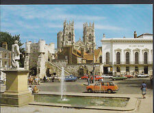 Yorkshire Postcard - York, Bootham Bar & Minster From Exhibition Square    RR433