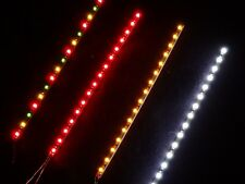 LED SMD Partyleiste Weiß 16 SMD 100 mm lang f. Kirmes Circus Modellbahn etc.