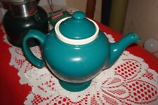 Vintage Hall McCormick Teapot  Turquoise  Infuser