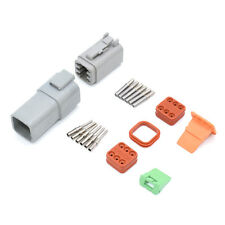 Deutsch DT 6 Way Pin Motorsport Connector Plug Kit