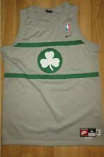 NBA BOSTON CELTIC PAUL PIERCE #34 GREYW GREEN NIKE JERSEY SIZE L