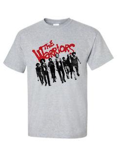 The Warriors T-shirt nostalgic cult classic film 70s retro style tee  PAR494