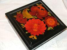 Vintage jewellery box VINTAGE RUSSIAN GENUINE KHOKHLOMA BOX