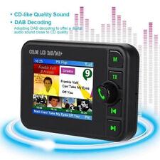 Car DAB Digital Radio Receiver Adapter Bluetooth Hands-Free Call FM Transmitter
