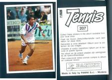 Michael Chang (USA) Tennis 1992! Edizioni Panini MINT n.207! Roland Garros