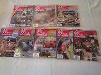 O Gauge Railroading Magazine 2 Year 2012 & 2013 ( 8 ISSUES)