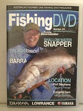THE FISHING DVD ~ NUMBER 23 ~ FISHING DOWNUNDER ~ PAL DVD ~ 2 HOURS