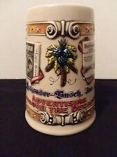 Budweiser 1992 Beer Stein Advertising Through The Decades