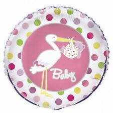 """Unique It's A NEW BABY GIRL Baby Shower Congratulations Foil Helium Balloon 18"""""""