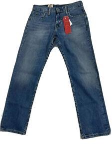 Levi's Levis 502 regular Taper Fit Men's Jeans Stretch Size 30x32 New 295070003