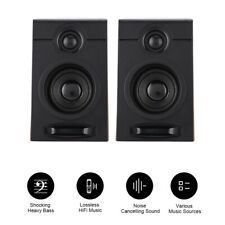 Computer Speakers USB PC Desktop Laptop Subwoofer Stereo HiFi Sound Heavy Bass
