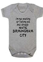I Hate Ciudad de Birmingham, Body, Camiseta, Pelele Fútbol Aston Villa Baggies