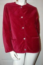 Territory Ahead Rose Reversible Quilted Design Jacket Sz M