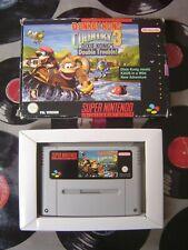 SNES Donkey Kong Country 3 (with box, no manual) PAL