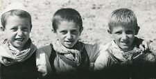 ALBANIE c. 1940 - Jeunes Garçons Albanais  - DIV 9783