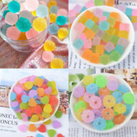 20 pcs Plastic Cabochons Charms Many Kinds Jelly Drops Jewellery Accessories