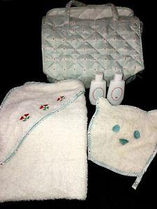 RETIRED Pleasant Co Bitty Baby Diaper Bag Towel wash cloth Powder Lotion