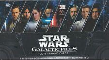 Star Wars Galactic Files 2018 Sealed Hobby Box 2 Hits Autograph Auto SFC