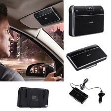 Bluetooth 4.0 Car Kit Hands-Free Speakerphone Clip Music Receiver for iPhone LG