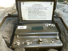 Vintage Military Ham Radio Field Strength Meter frequency counter TS-3951 PRM-34