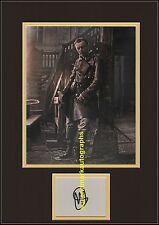 Hugo Speer Alexander Dumas Captain Treville The Musketeers B Autograph UACC RD96