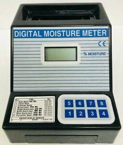 Digital Seed Grain Moisture Meter