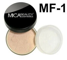 Mica Beauty Foundation Powder MF-1  Porcelain + Free Nail File