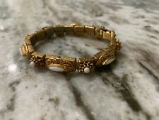 Florenza Bracelet Stones Gold Tone