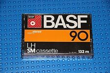 BASF   LH-SM  90  YELLOW VERSION  BLANK CASSETTE TAPE (1) (USED)