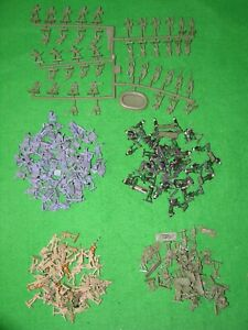 AIRFIX 1/72 HO-OO SCALE MILITARY ARMY,NO BOX, MULTI-LISTING