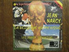 SPORT FOOTBALL 45 TOURS BELGIQUE JEAN NARCY MEXIQUE