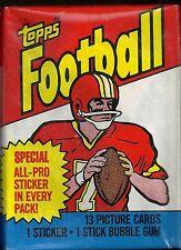1983 Topps Football  Wax Pack   Marcus Allen ROOKIE ???