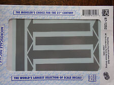 Microscale Decal HO  #87-1252 Southern Pacific Hi-Cube Stripes & Arrows